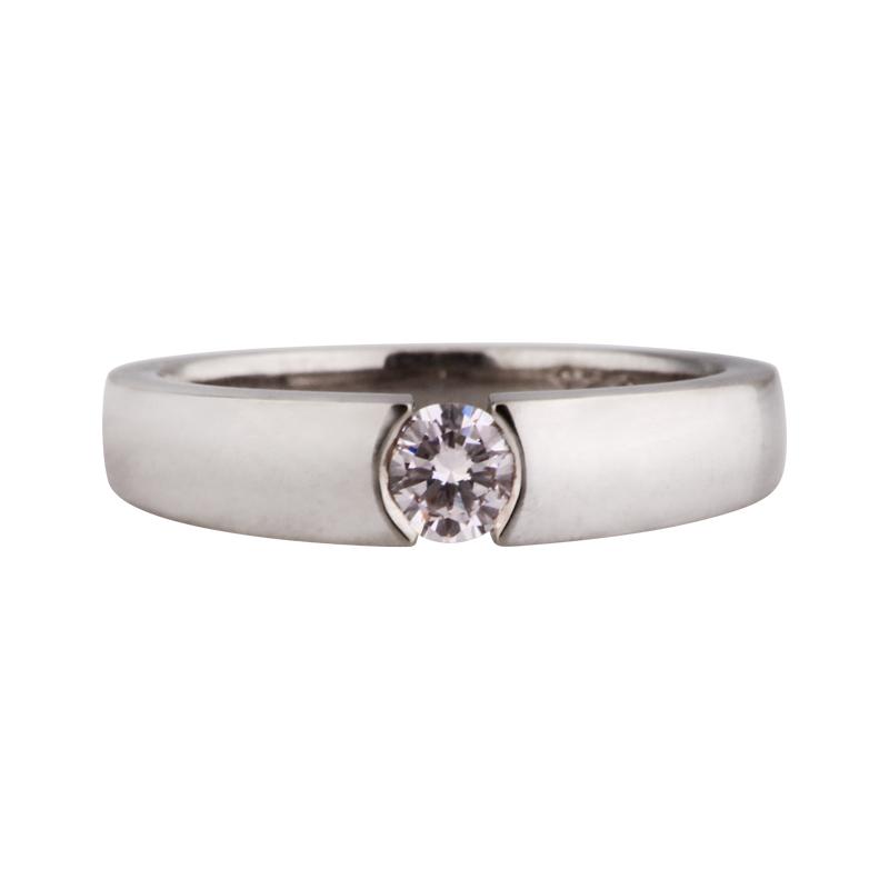 Brillant-Ring Weißgold 0,42 ct