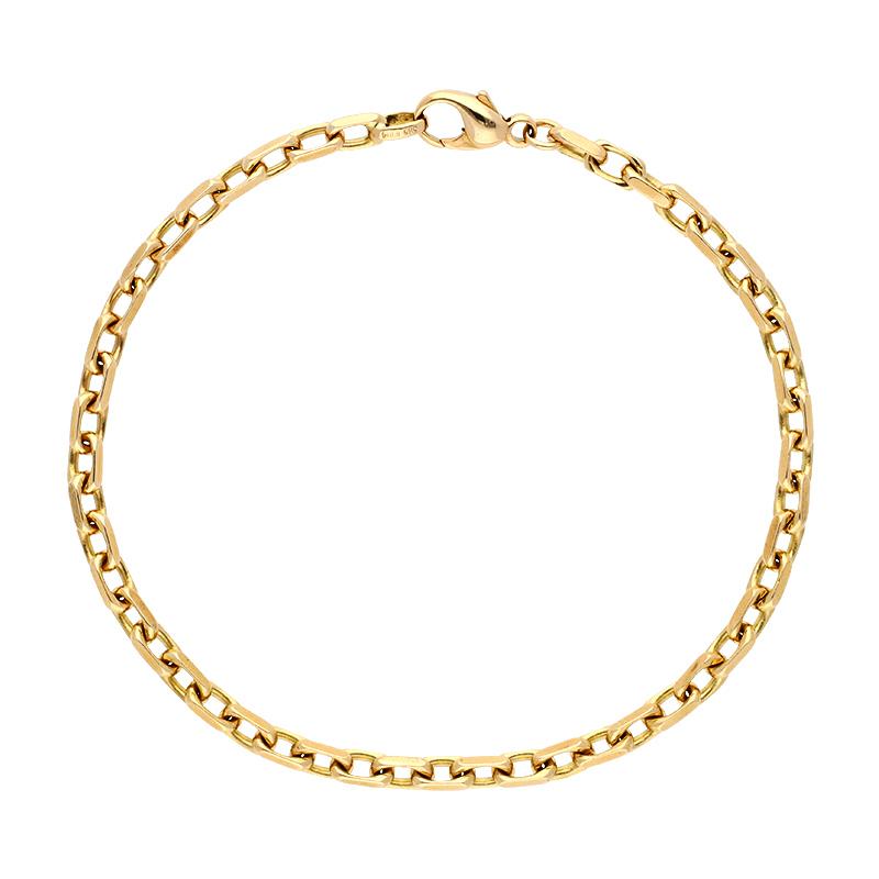 Anker-Armband Gelbgold