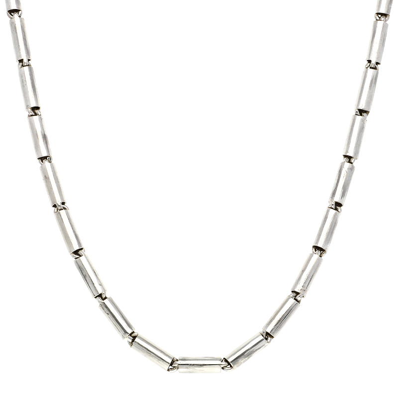 Stäbchenkette Silber