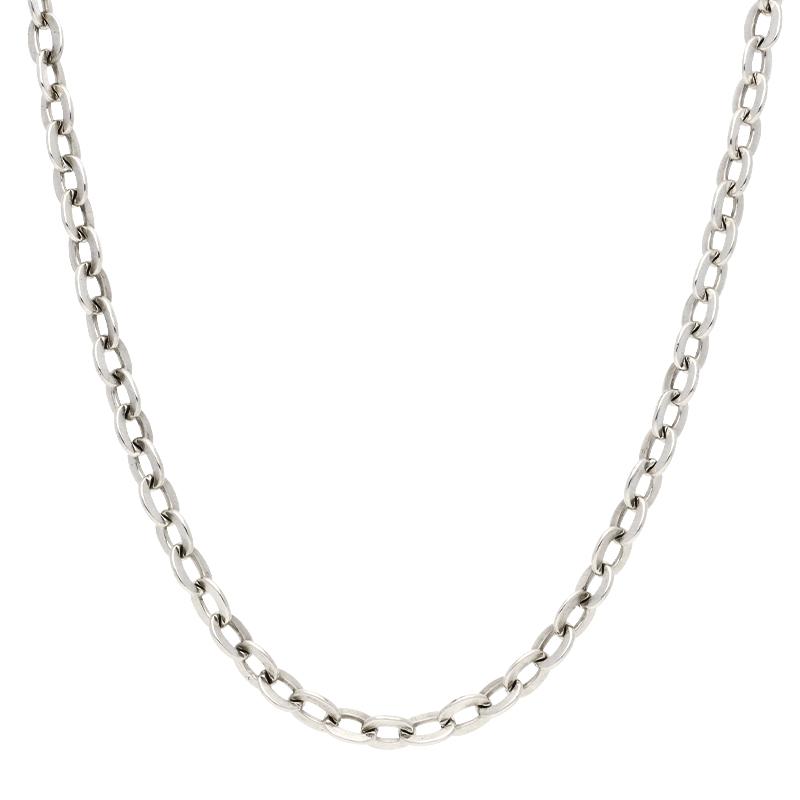Flachanker-Kette Silber