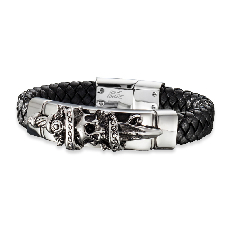 Armband Save Brave 'JACK' Edelstahl