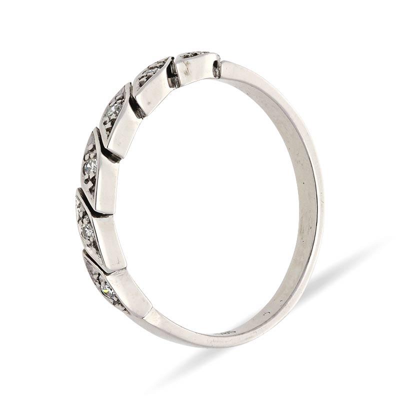 Diamant-Ring Weißgold