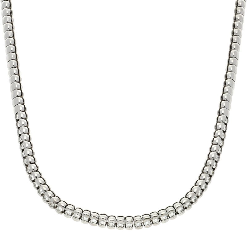 Collier mit Brillanten 3,0 ct in 750er Weissgold