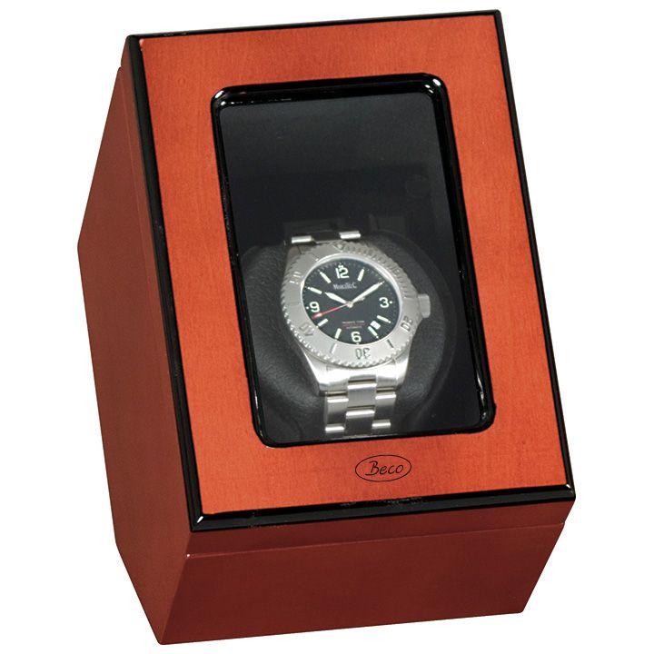 """Uhrenbeweger """"Atlantik"""" für eine Uhr in Rosenholzdekor"""