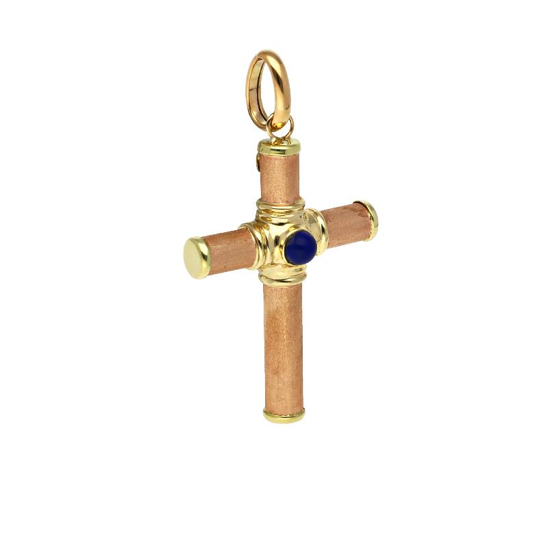 Kreuz-Anhänger Bicolor