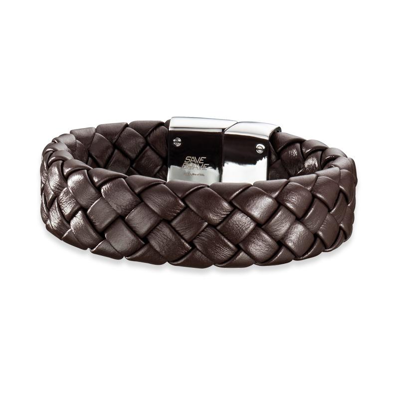 Armband Save Brave 'Kilo' Edelstahl