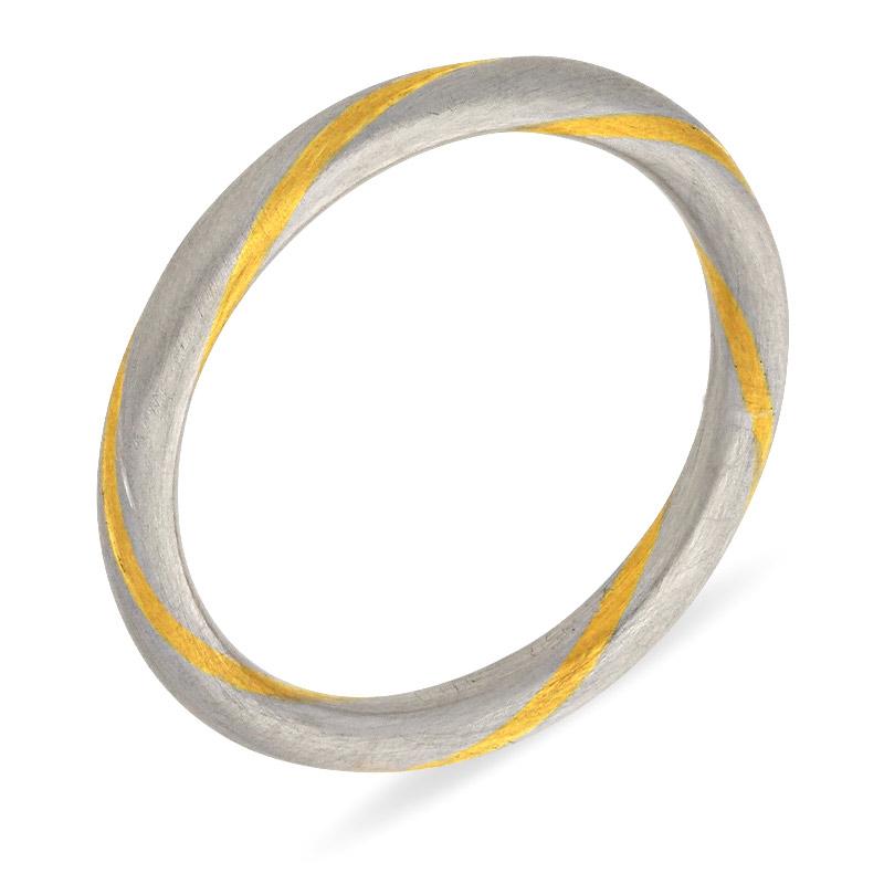 Vorsteck-Ring Bicolor