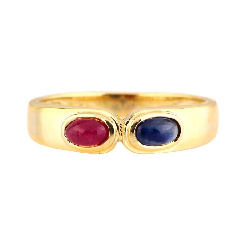 Farbstein-Ring Gelbgold