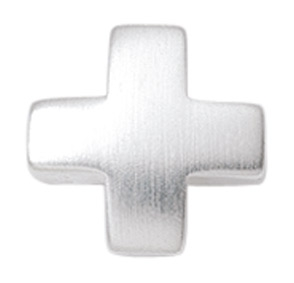 Kreuzanhänger in Silber