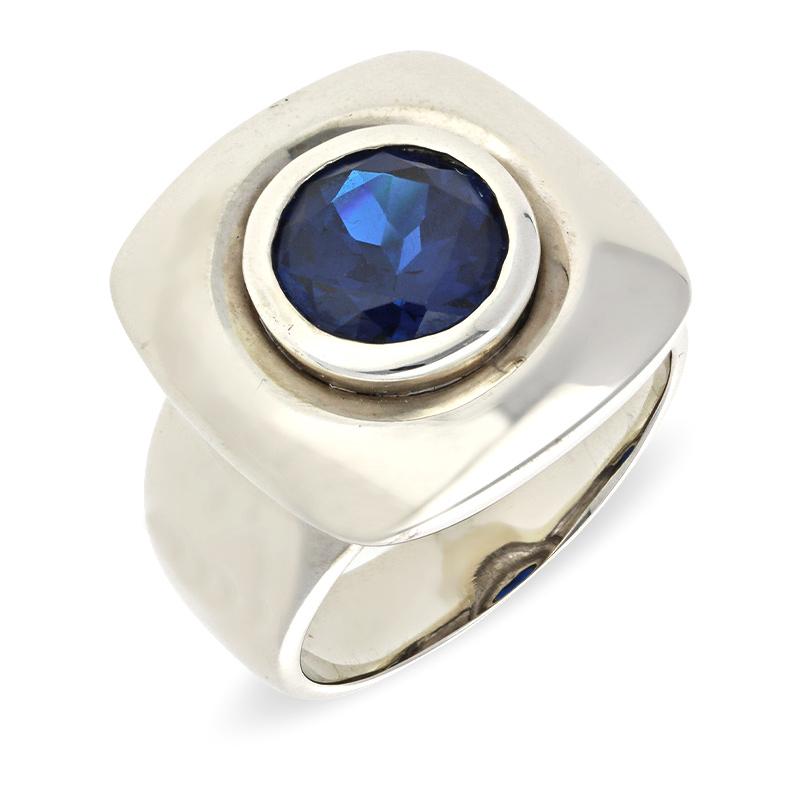 Disthen-Ring Silber