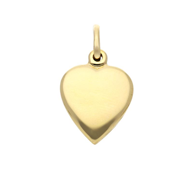Herz-Anhänger Gelbgold