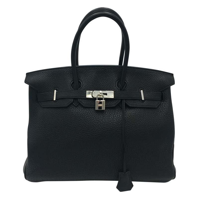 Hermés 'Birkin Bag 35' Schwarz