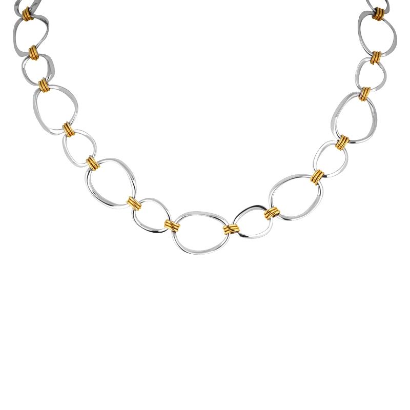 Bicolor- Collier Gold
