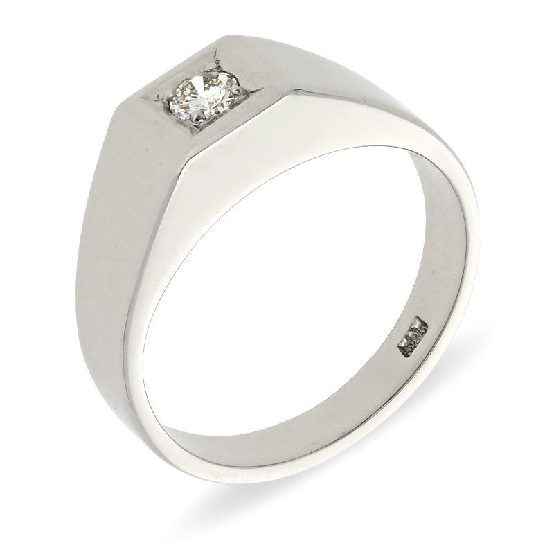 Brillant-Ring Weißgold