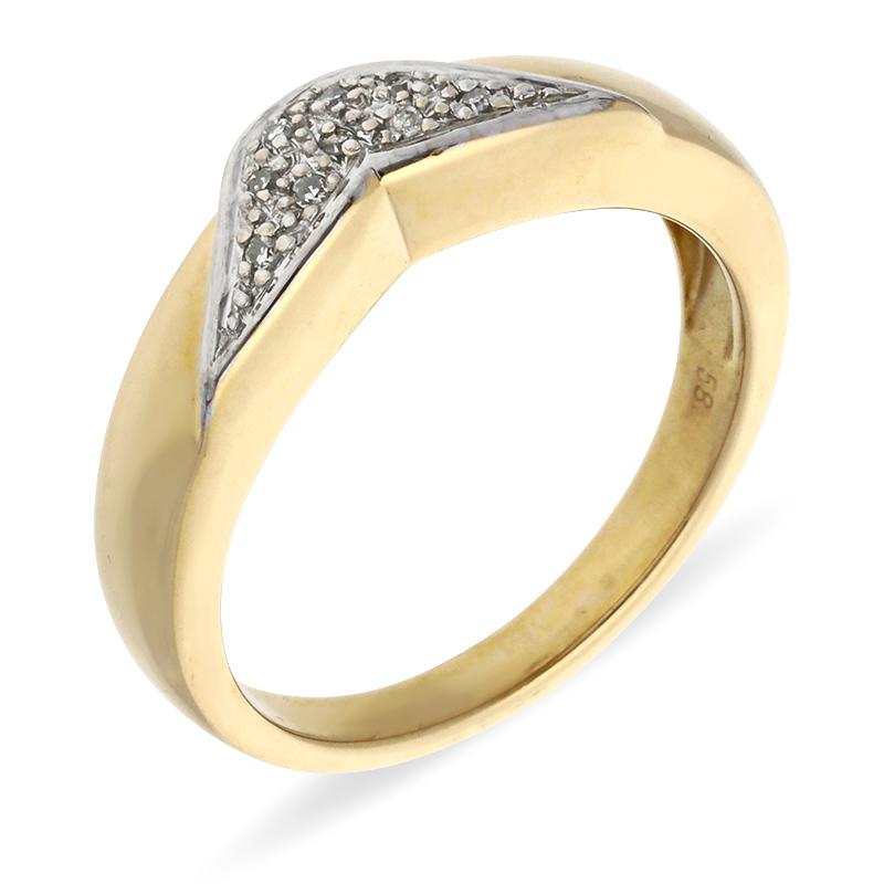 Diamant-Ring Gelbgold