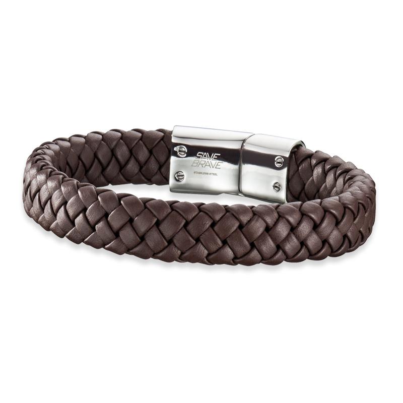 Armband Save Brave 'HARRY' Edelstahl