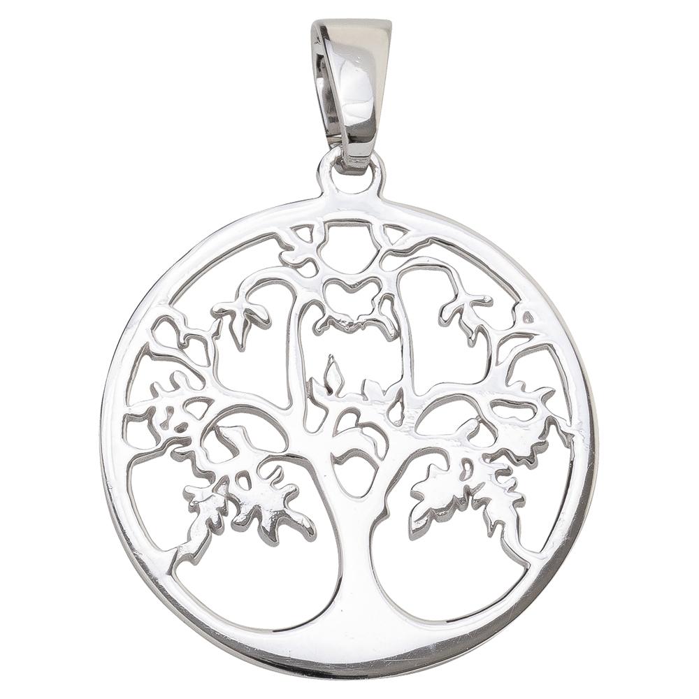 Lebensbaum-Anhänger Silber