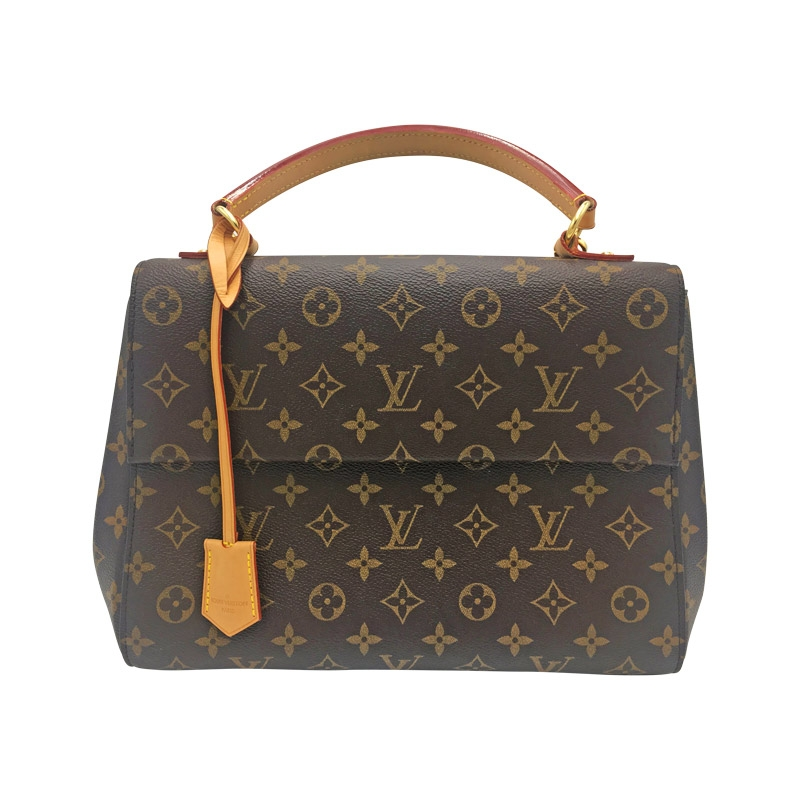 Louis Vuitton 'Cluny MM' Braun