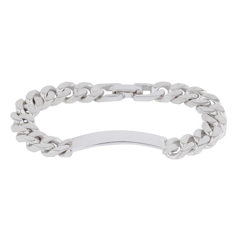 Identitäts-Armband Silber