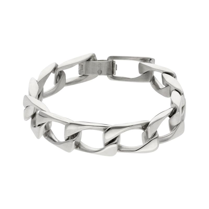 Identitäts- Armband Silber