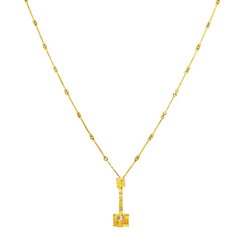 Lapponia-Collier 'Thai'  Gelbgold