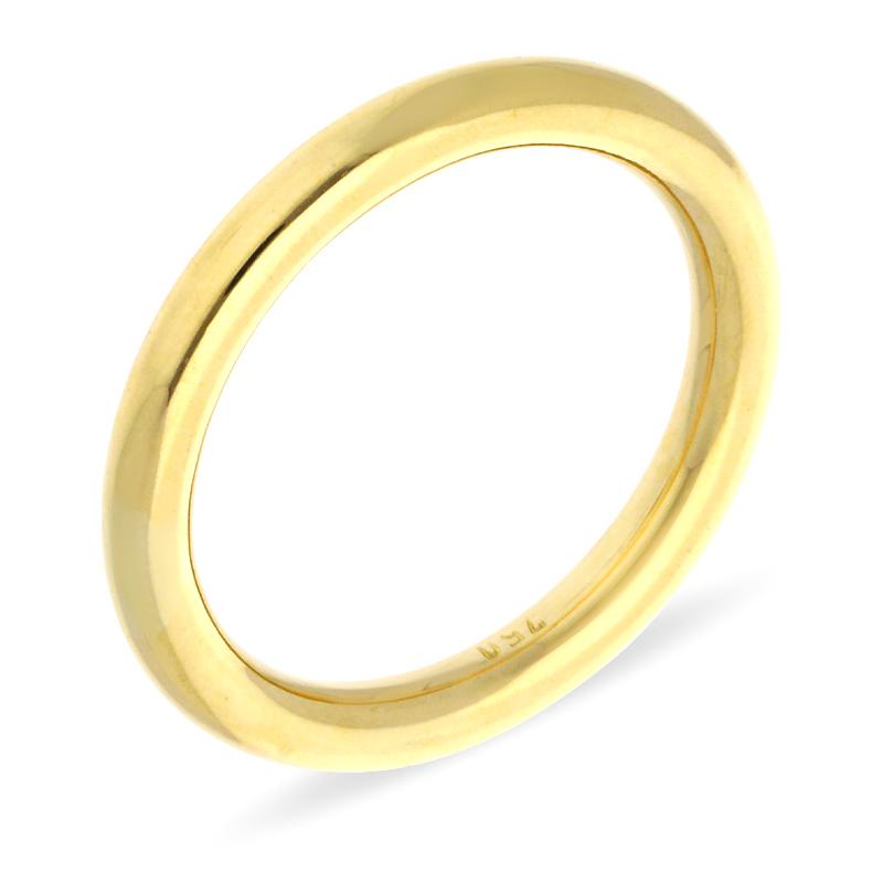 Vorsteck-Ring Gelbgold