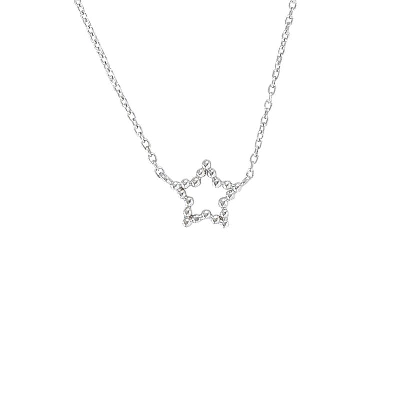 Collier Stern Silber
