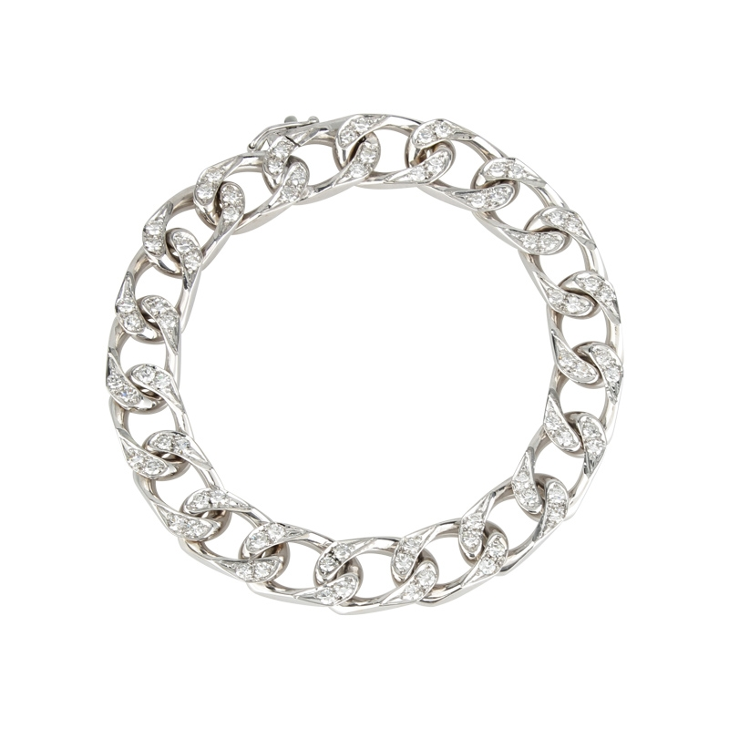 Diamant-Armband Weißgold