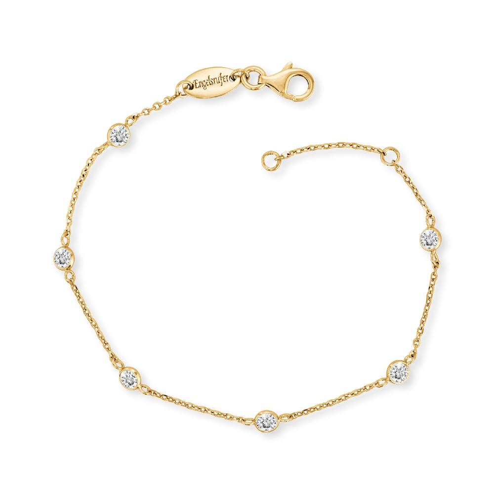 Engelsrufer Armband Silber vergoldet