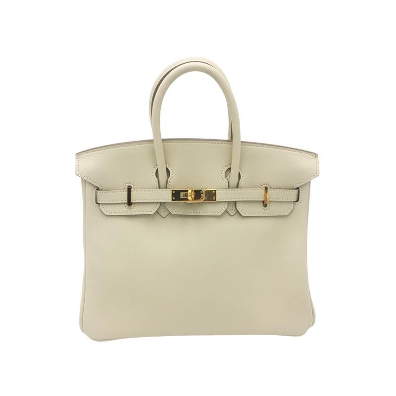 Hermès 'Birkin Bag 25' Beige