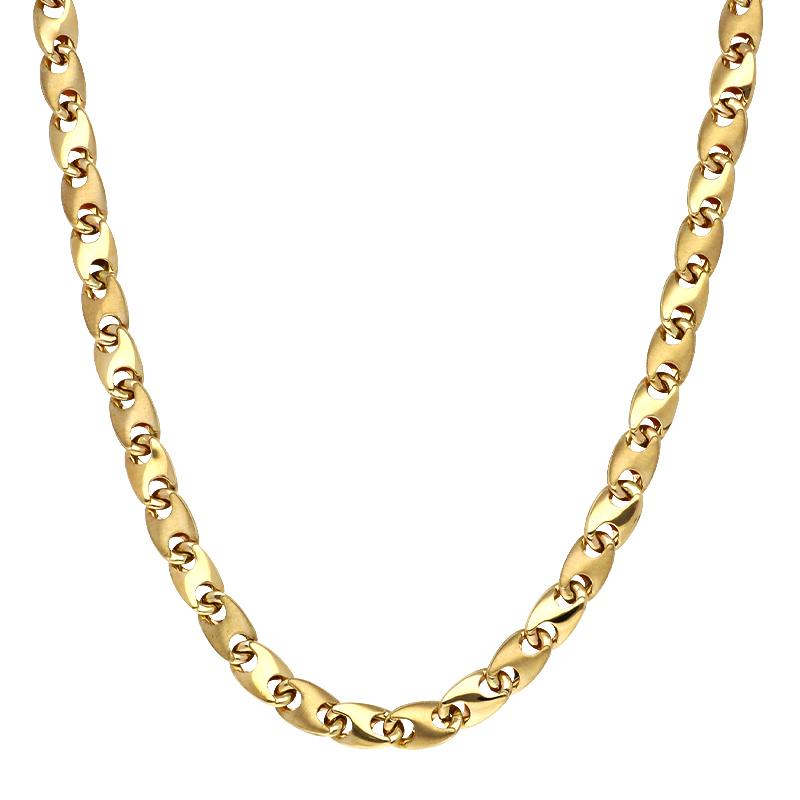 Halskette Gelbgold