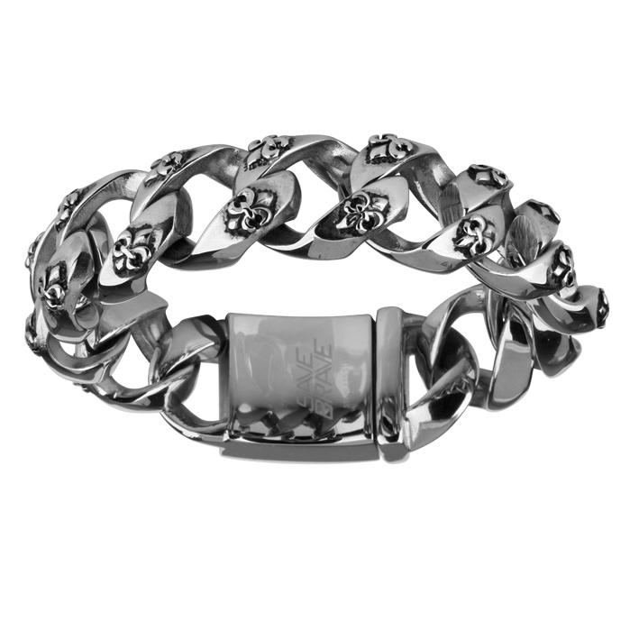 Armband Save Brave 'GEORGE' Edelstahl
