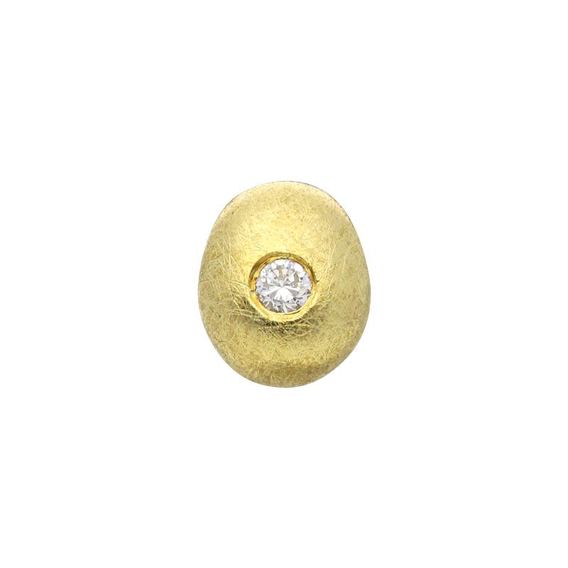 Brillant-Anhänger Gelbgold