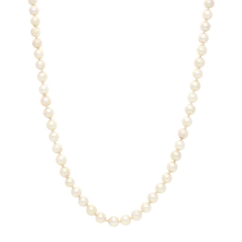 Perlkette Bicolor