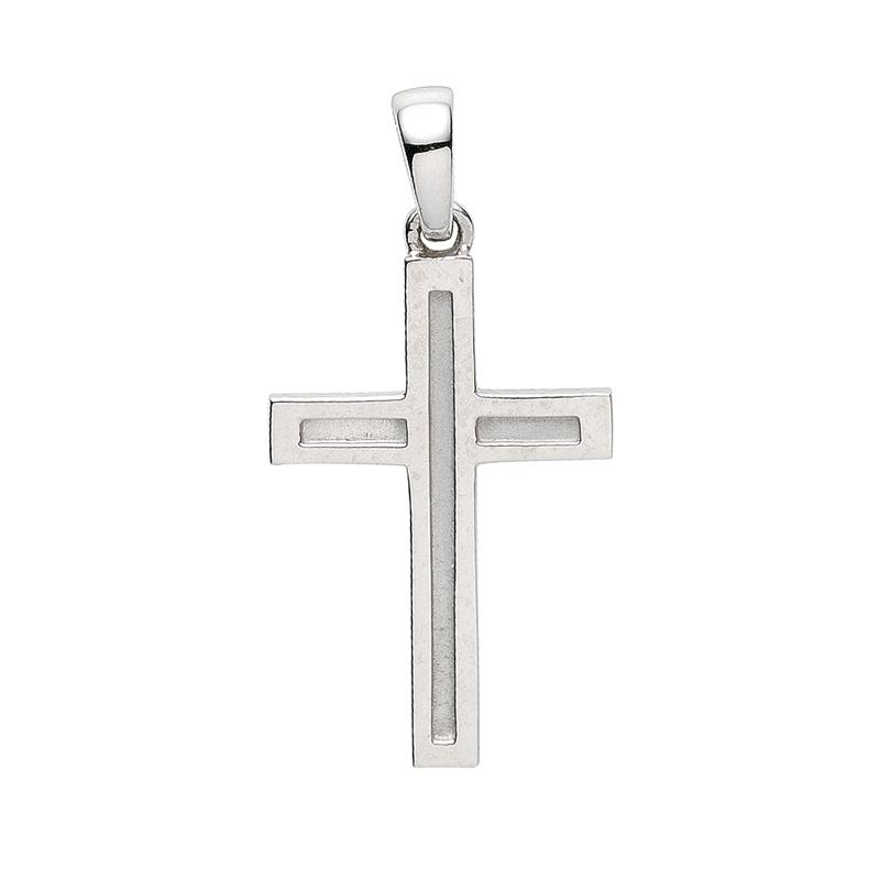 Kreuz-Anhänger Silber