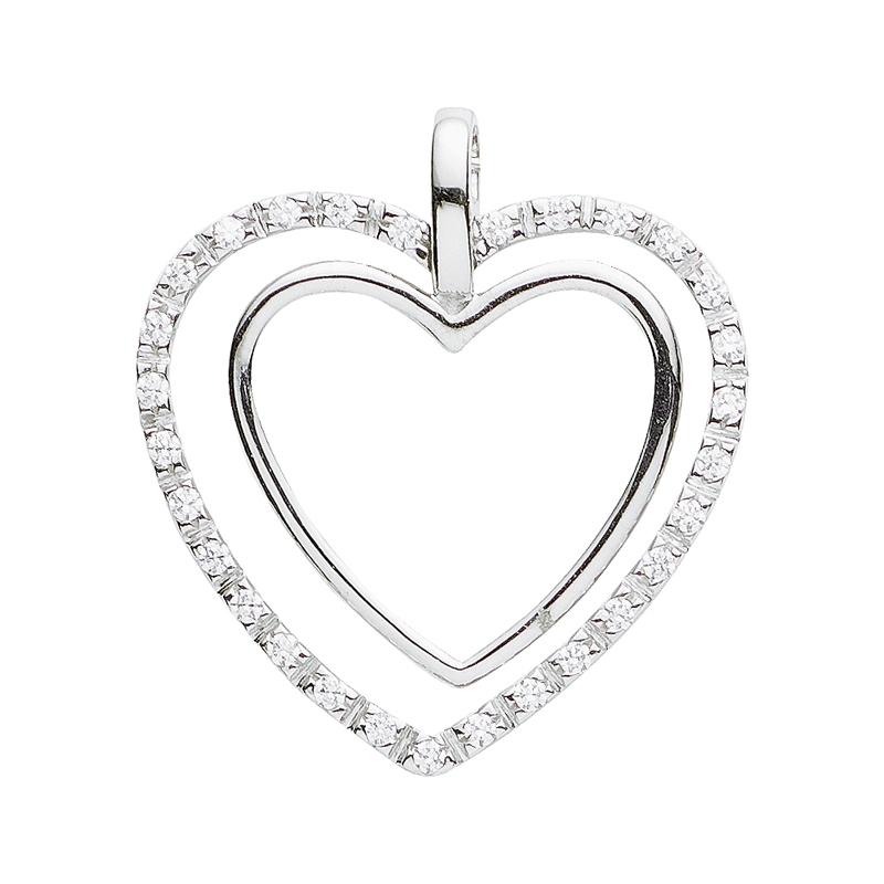 Herz-Anhänger Silber