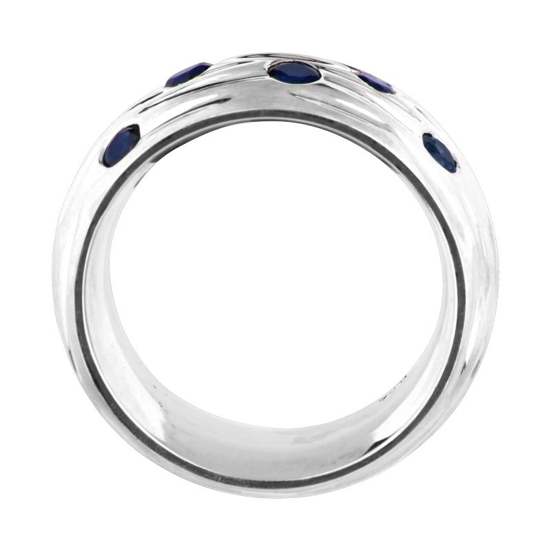 Safir-Ring Silber