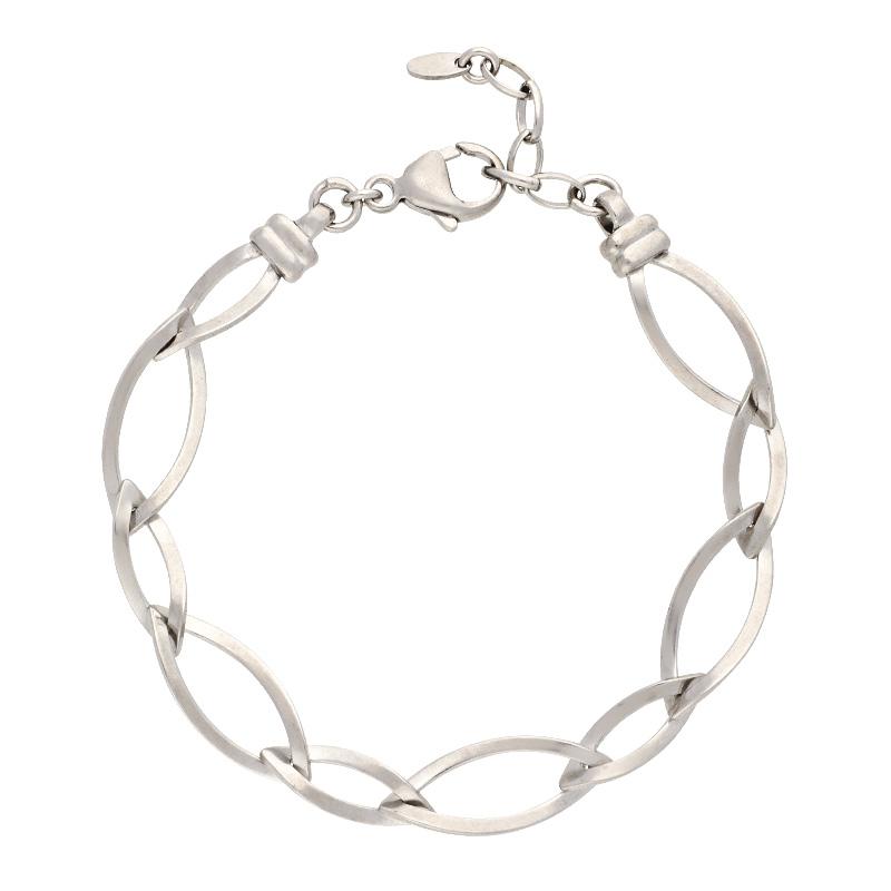 Armband-Silber, rhodiniert