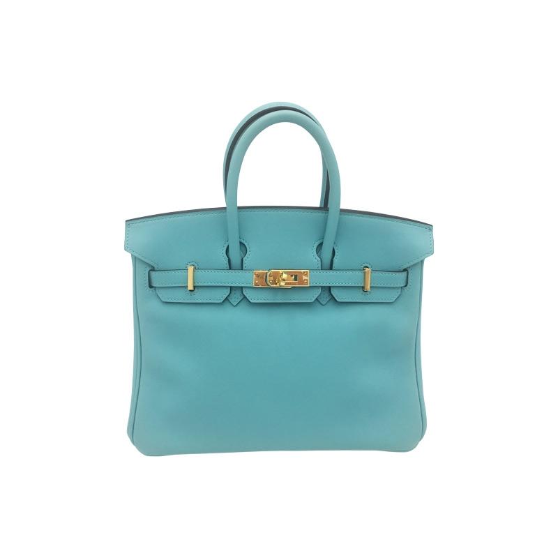 Hermès 'Birkin Bag 25' Türkis