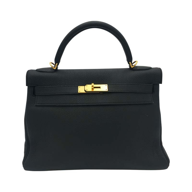 Hermés 'Kelly Bag 32' Schwarz