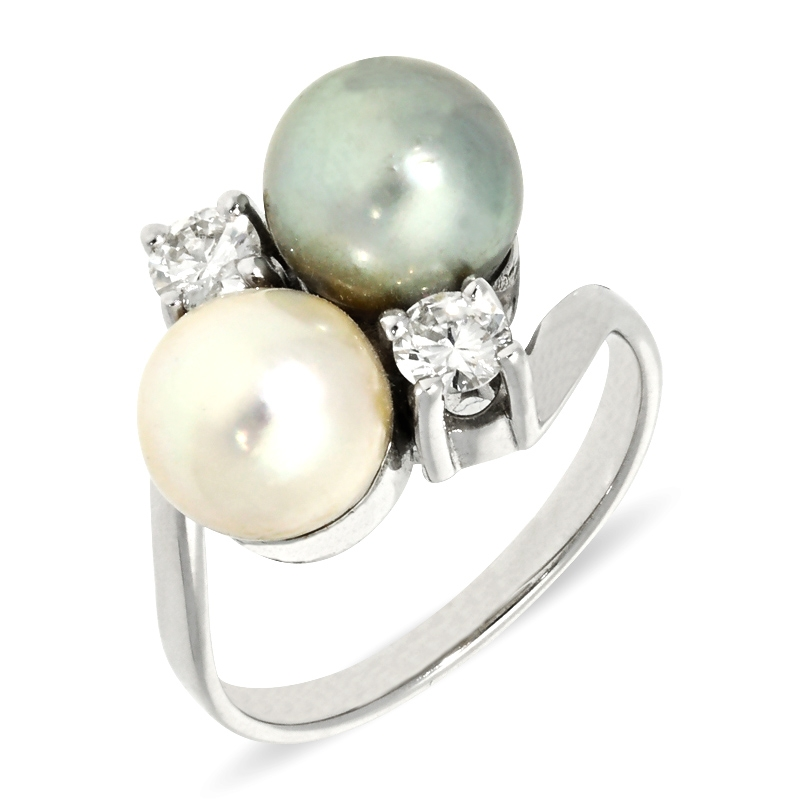 Perl-Ring Bicolor